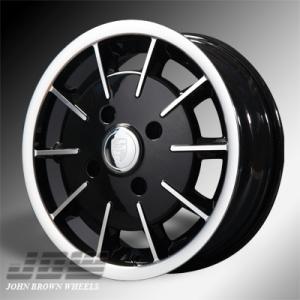 4x130 PCD JBW Gas Burner Alloy Wheel in Gloss Black
