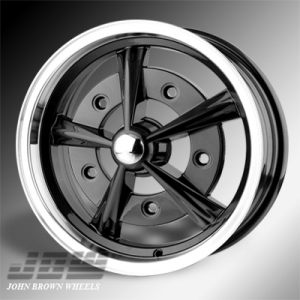 5x205 PCD JBW Radar Alloy Wheel (5x15 inch) in Gloss Black