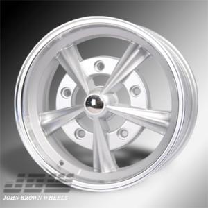5x205 PCD JBW Radar Alloy Wheel (5x15 inch) in Silver