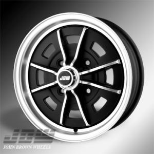 4x130 PCD JBW Sprintstar Alloy Wheel in Gloss Black