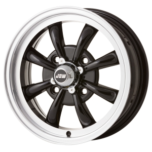 4x130 PCD JBW AC8 Alloy Wheel in Gloss Black