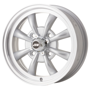 **NCA** 4x130 PCD JBW AC8 Alloy Wheel in Silver
