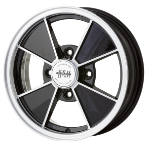 4x130 PCD JBW BRM 4 Alloy Wheel in Gloss Black