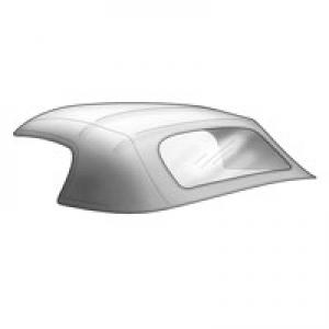 Karmann Ghia Cabriolet Hood - 1960-67
