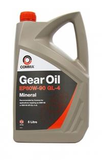 Comma 80w90 Gearbox Oil 5 Litre Bottle