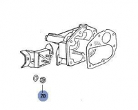 Beetle Front Gearbox Mount Nut (Mount To Chassis)