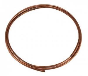 6mm Copper Fuel Line - 2.5 Metres Long