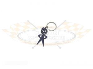 Mr Bubble Head Key Ring