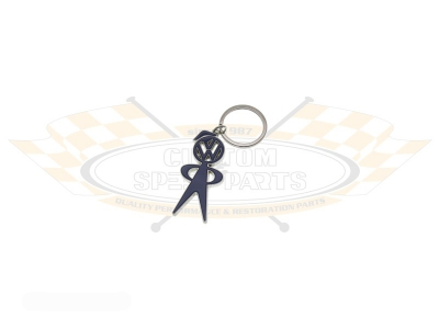 Mr Bubble Head Key Ring