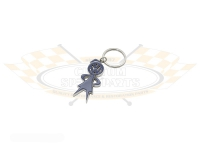 Mrs Bubble Head Key Ring