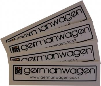 GermanWagen Sticker