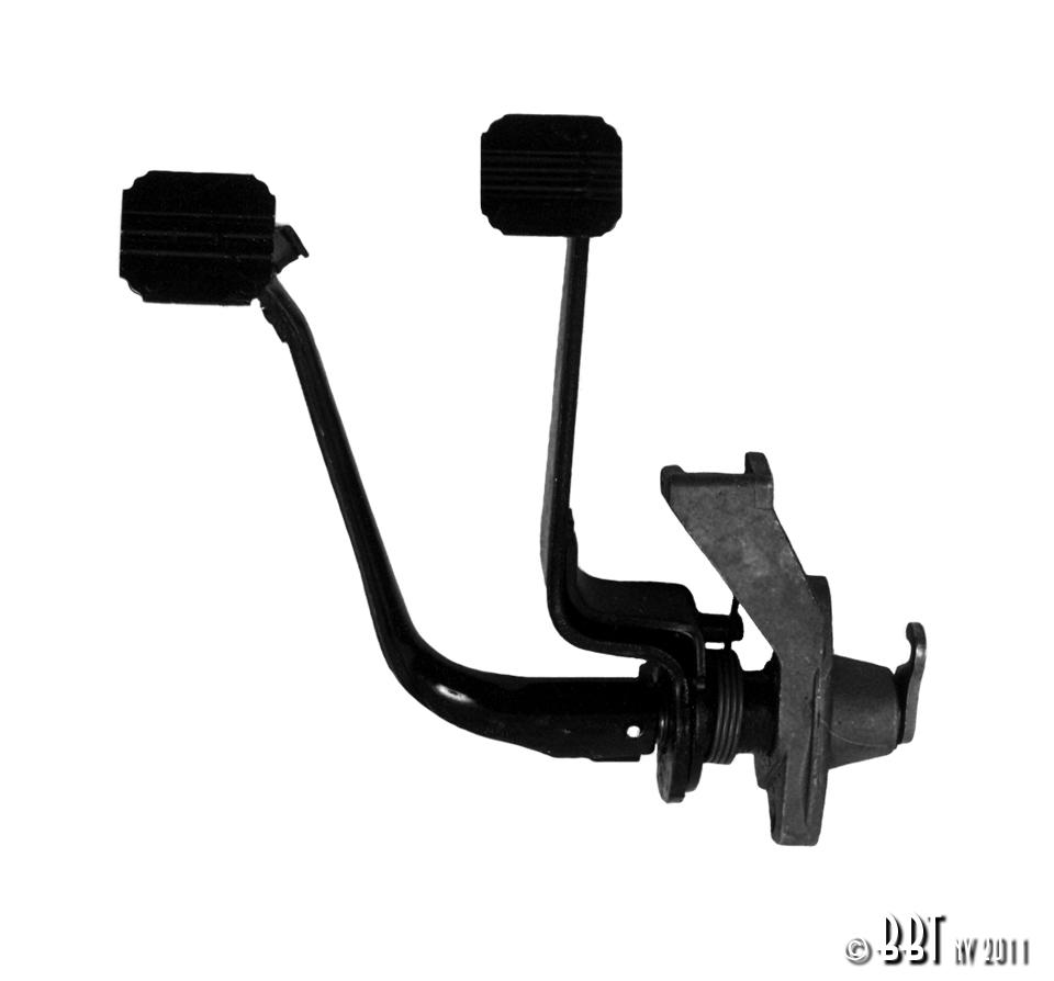 Pedal and Handbrake