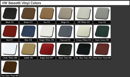 Beetle Seat Cover Set - 1968-72
