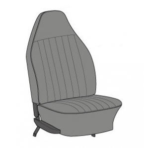 US Spec Beetle Seat Cover Set (Highback Style) - 1973 Only