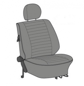 Beetle Seat Cover Set (Highback Style) - 1977-78