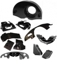 Beetle Black Tinware Kit - Twin Port Type 1 Engines - With Air Outlets