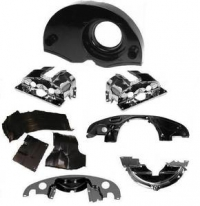Beetle Black Tinware Kit - Single Port Type 1 Engines - With Air Outlets