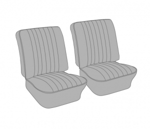 Karmann Ghia Front Seat Cover Set - 1972-74