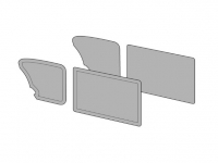 Sedan Beetle Door Panel Set - 1965-66