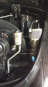 Vintage Speed Oil Filler AN8 Hose Kit - Twin Breather Vent