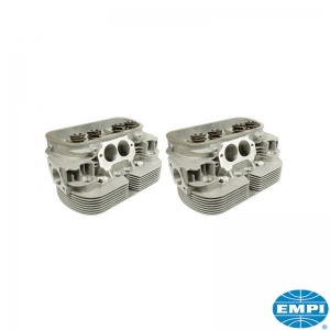 Polished And Ported GTV-2 Cylinder Heads - 90.5mm (42mm Inlet Valves, 37.5mm Exhaust Valves)